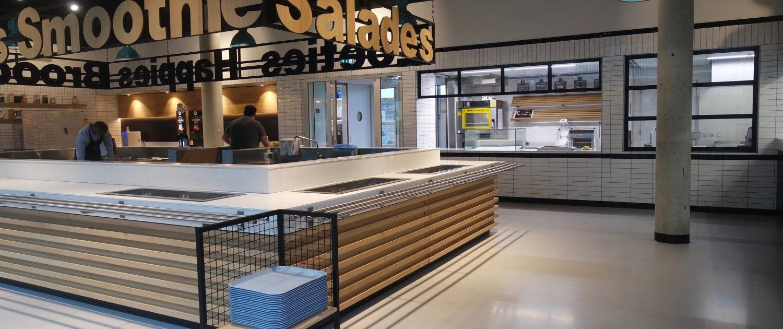 Bakker Vakkeuken_Friesland College locatie Triangel Leeuwarden