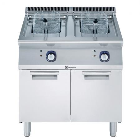 electrolux elektrische friteuse 2x15liter 371082